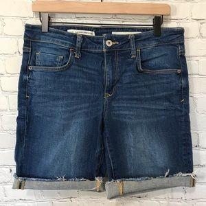 Anthropologie Pilcro Mid-Rise Slim Jean Shorts 29